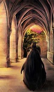 "severus-snape-my-eternal-prince: "" Artwork by ジル@ついったー ..."