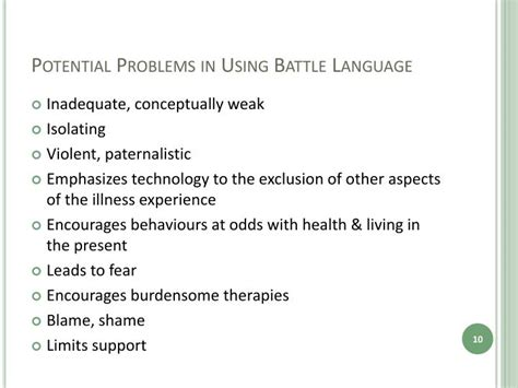 Potential Problems by Ppt Fighting Cancer An Examination Of Society S