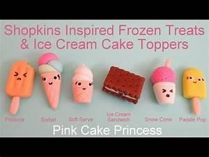 Shopkins Inspired Kawaii Frozen Treats Ice Cream Cake