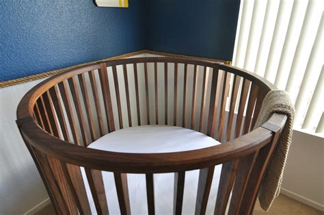 baby crib finewoodworking