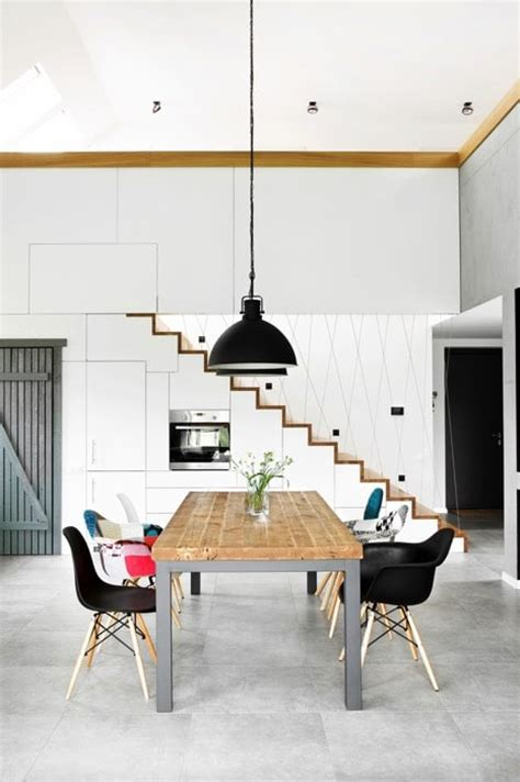cuisine type industrielle fabriquer soi même une table en bois 26 modèles craquants