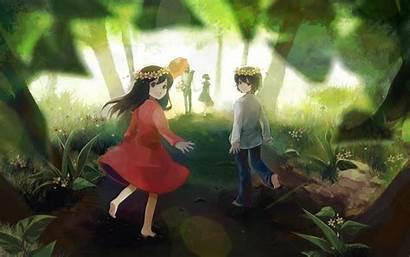 Children Wolf Anime Ame Wallpapers Yuki Manga
