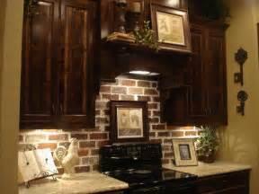 brick backsplashes for kitchens brick backsplash cabinets yes future kitchen for