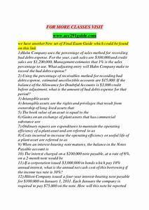 Acc 291 Guide Success Secrets   Acc291guide Com