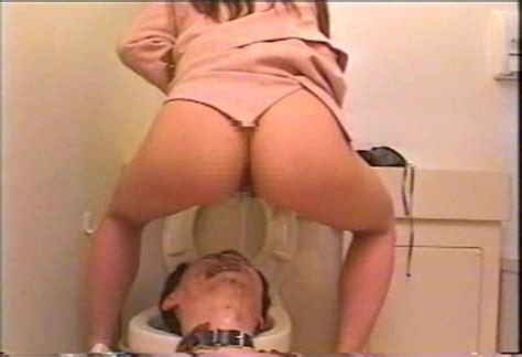 Asian Femdom Human Toilet
