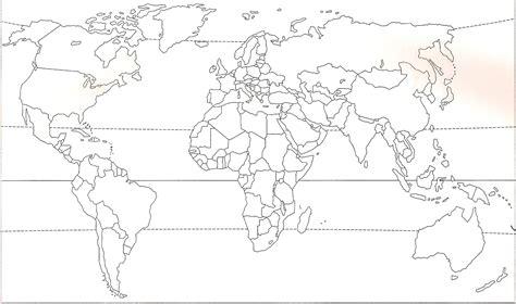 Carte Politique Du Monde à Imprimer by Carte Des Pays Du Monde Vierge