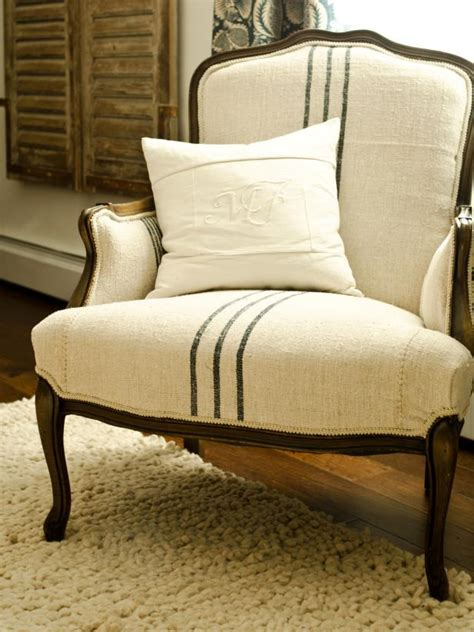 Reupholstering Fabric by How To Reupholster An Arm Chair Hgtv