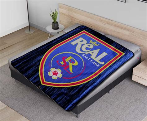 Real Salt Lake MLS Soccer Team Fleece Blanket Quilt - Fear ...