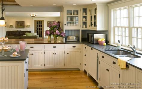 country beadboard kitchen cabinets pictures of kitchens traditional white kitchen