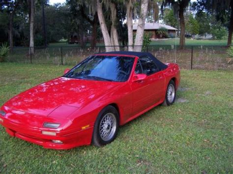 buy car manuals 1989 mazda rx 7 electronic valve timing find used 1989 mazda rx 7 convertible automatic rare super runner in edgewater florida