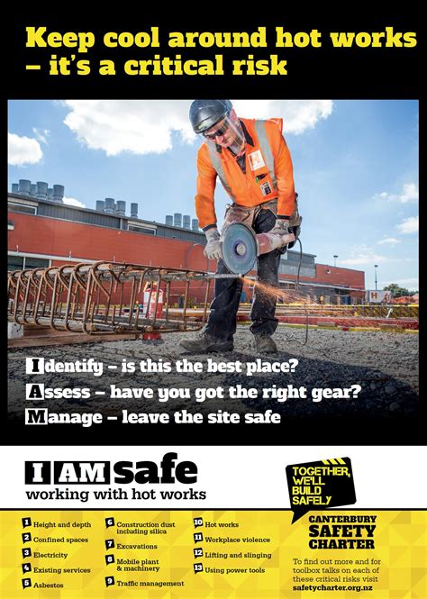posters promotional tools canterbury rebuild safety