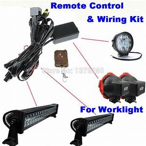 Universal Remote Control Wiring Harness  U0026 Switch Kit For