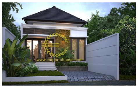 gambar desain rumah ukuran tanah  rumah