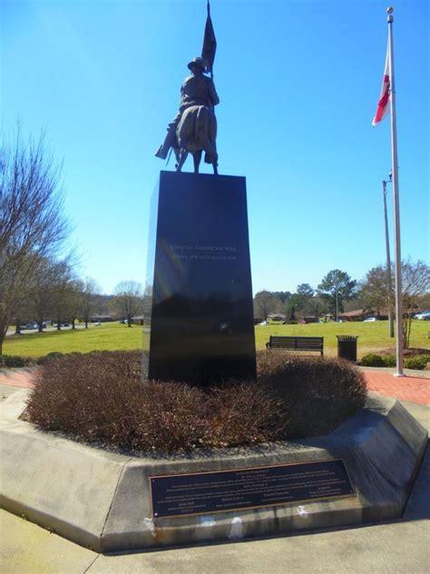buffalo soldier memorial monument  american legion