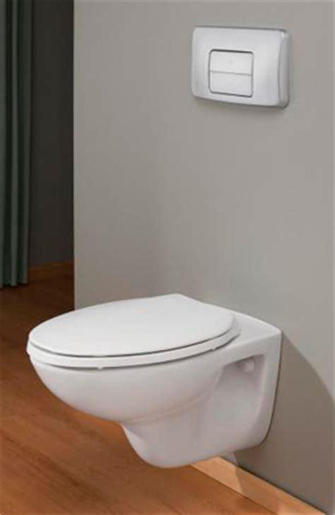 wall hung water closet or toilet