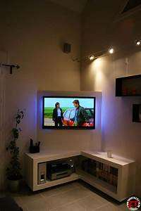 Tv Möbel Ecke : pingl par mu mu sur d co salon pinterest tv m bel wohnzimmer et m bel ~ Frokenaadalensverden.com Haus und Dekorationen