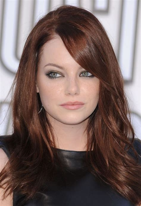 Emma stone - hair color   hair and makeup   Pinterest