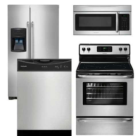 kitchen appliance sets package 13 frigidaire appliance package 4