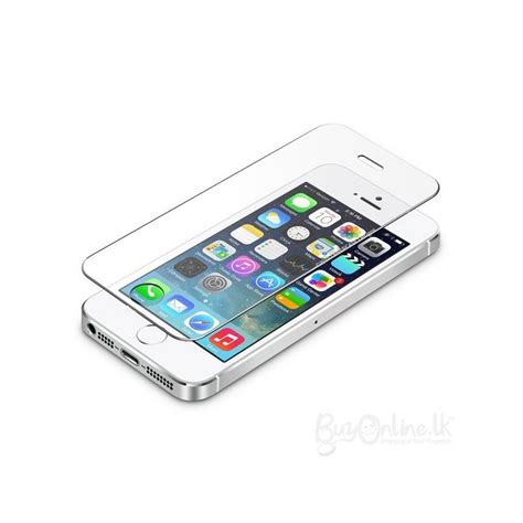 tempered glass screen protector iphone 5 tempered glass screen protector for apple iphone 5 5s 5c