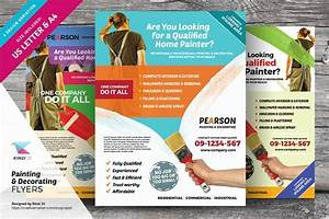 painting decorating flyers flyer templates creative With painting flyers templates free