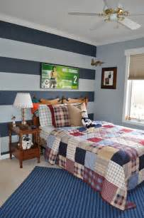 boys bedroom paint ideas northern nesting striped accent wall