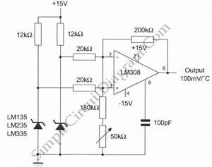 temperature sensor circuit schematic wiring center With temperature sensor led meter circuit diagram