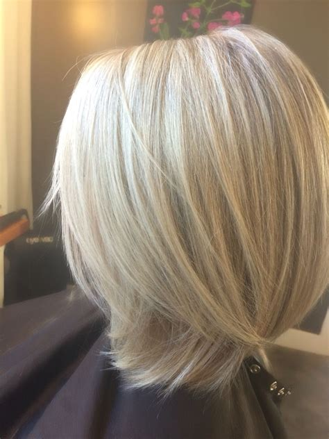 icy blonde lob long bob hair  beth beth conlin hair