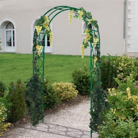 arche de jardin pour plantes grimpantes supports pour plantes grimpantes digpres