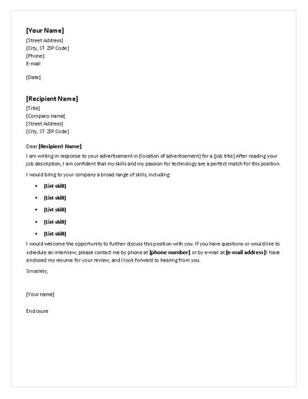 Chronological Resume And Cover Letter cover letter for chronological resume cover letters templates