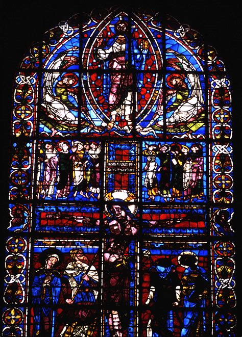 medieval poitiers cathedral  saint pierre