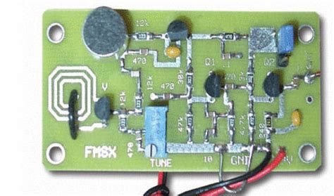 Transmitter With Varactor Diode Tuning