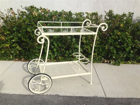 wrought iron tea cart garden furniture for sale at 1stdibs