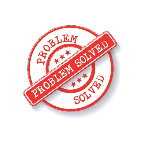 Problem Solved Are There Guidelines For Closing Or