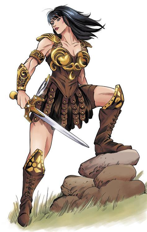 Vita Ayala Takes Xena Warrior Princess April