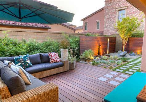 Aménagement Petit Jardin Dans L'arrièrecouridées Modernes