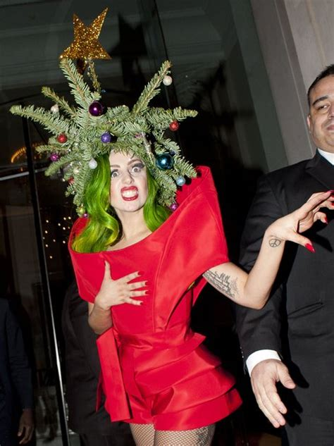 gaga christmas tree mp3 gaga travels so much she has to take tree with pop s capital