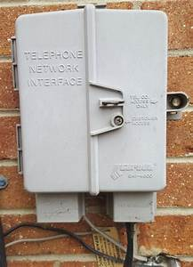 Exterior Telephone Cable Removal - Phone
