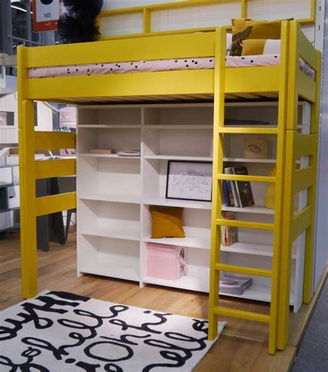 raised bed bunk bed mathy  bols  desk diddle