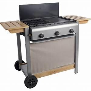 Petit Barbecue A Gaz : barbecue au gaz naterial wombat leroy merlin ~ Dailycaller-alerts.com Idées de Décoration