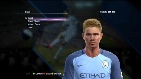 PES 2013• KEVIN DE BRUYNE • NEW FACE & HAIR 2017 • - YouTube