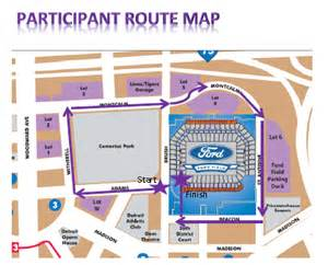 map of parking near ford field pictures to pin on pinsdaddy