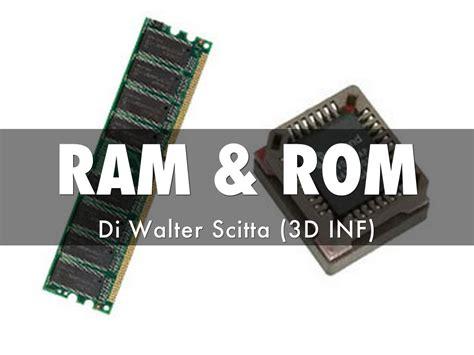 Ram & Rom By Walter Scitta