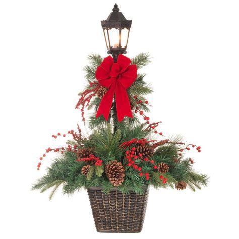 christmas decoration lamp post billingsblessingbagsorg