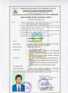 legalitas perusahaan lppm wahana education wahana education