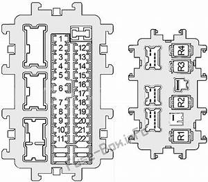 Fuse Box Diagram Infiniti G25  G35  G37  Q40  V36  2006