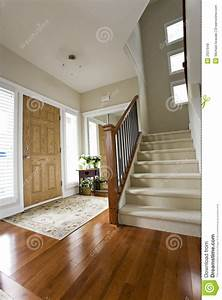 House front hall entrance stock image Image of natural
