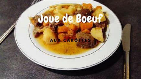 joue de bœuf aux carottes cookeopassion