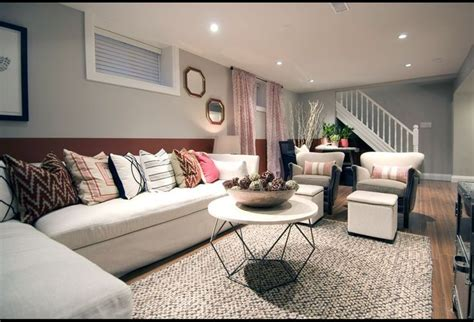 Basement Living Room Ideas Soft Colors Decorate And Amazing Simple With Soft Gray Stained Wall