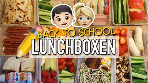 10 Lunchbox Ideen  Back To School Kita