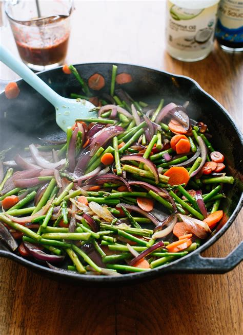 spring veggie stir fry good food channel delicious
